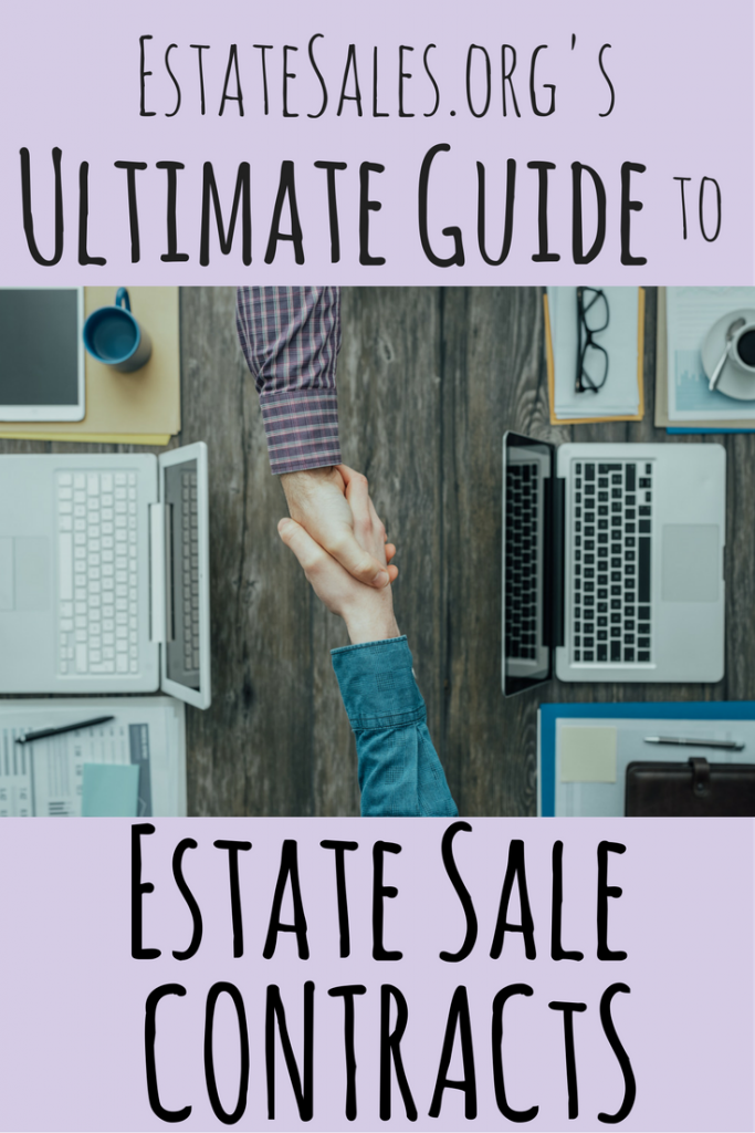 Ultimate Guide to Estate Sale Contracts