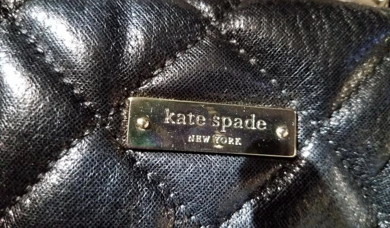 Kate Spade purse label