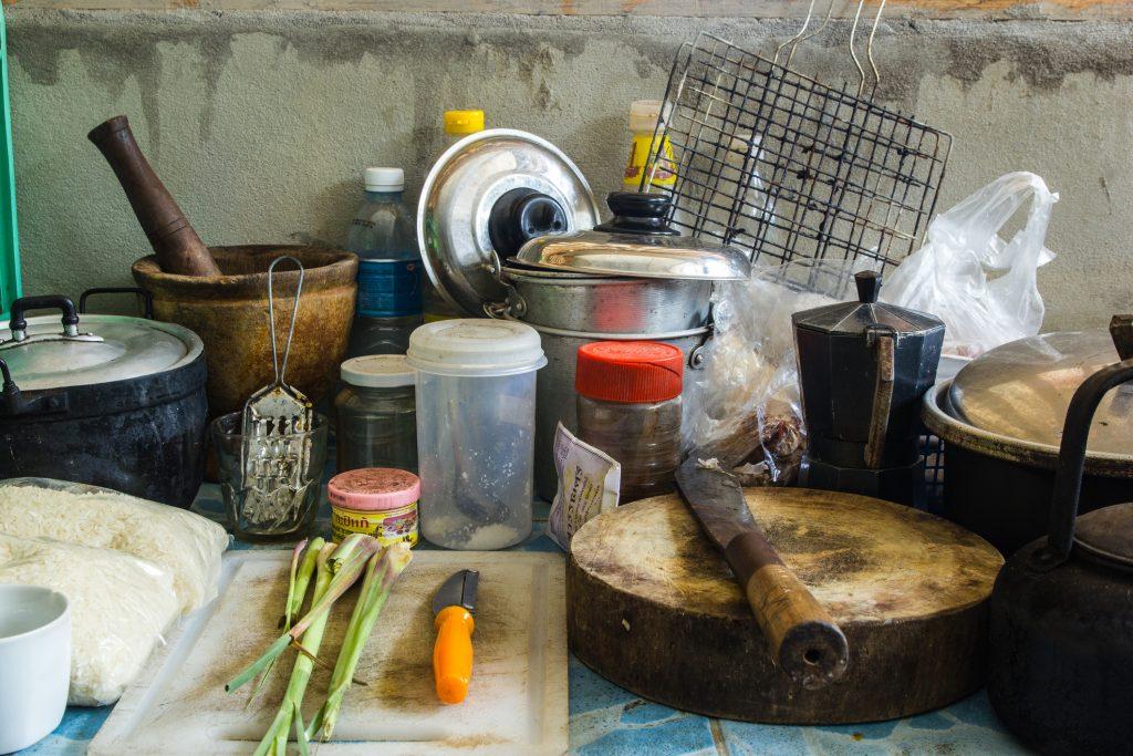 Hoarder House Kitchen