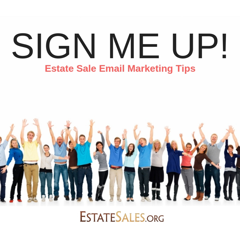 Marketing estate sales