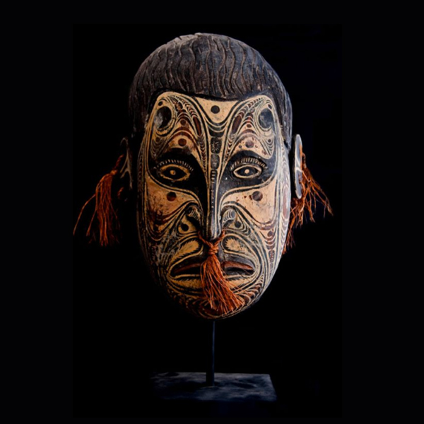 Ethnographic Art Wall Mask