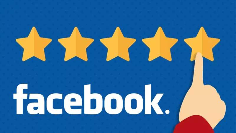 business online reviews via facebook