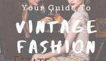 Vintage Fashion Labels at Estate Sales
